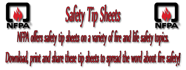 NFPA Safety Sheet