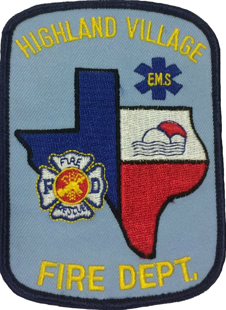 Blue Texas Patch