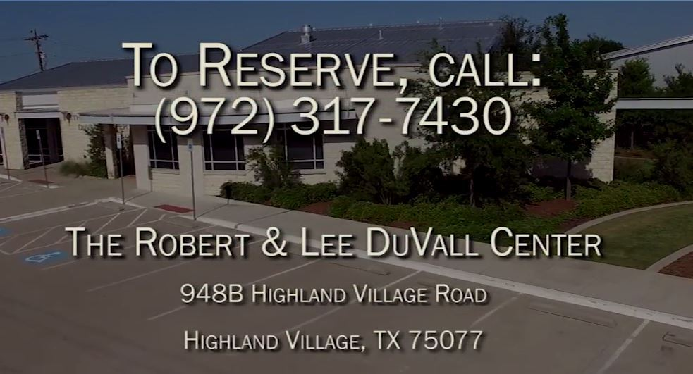 Robert & Lee DuVall Center Video