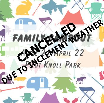 Family Campout-Cancelled