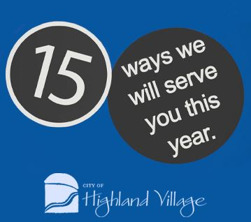 2019 Budget - 15 Ways We Will Serve You