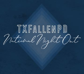 TXFallenPD National Night Out
