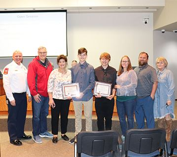 Certificates of Recognition for Middle School Students