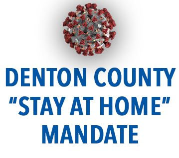 Denton County Stay at Home Mandate