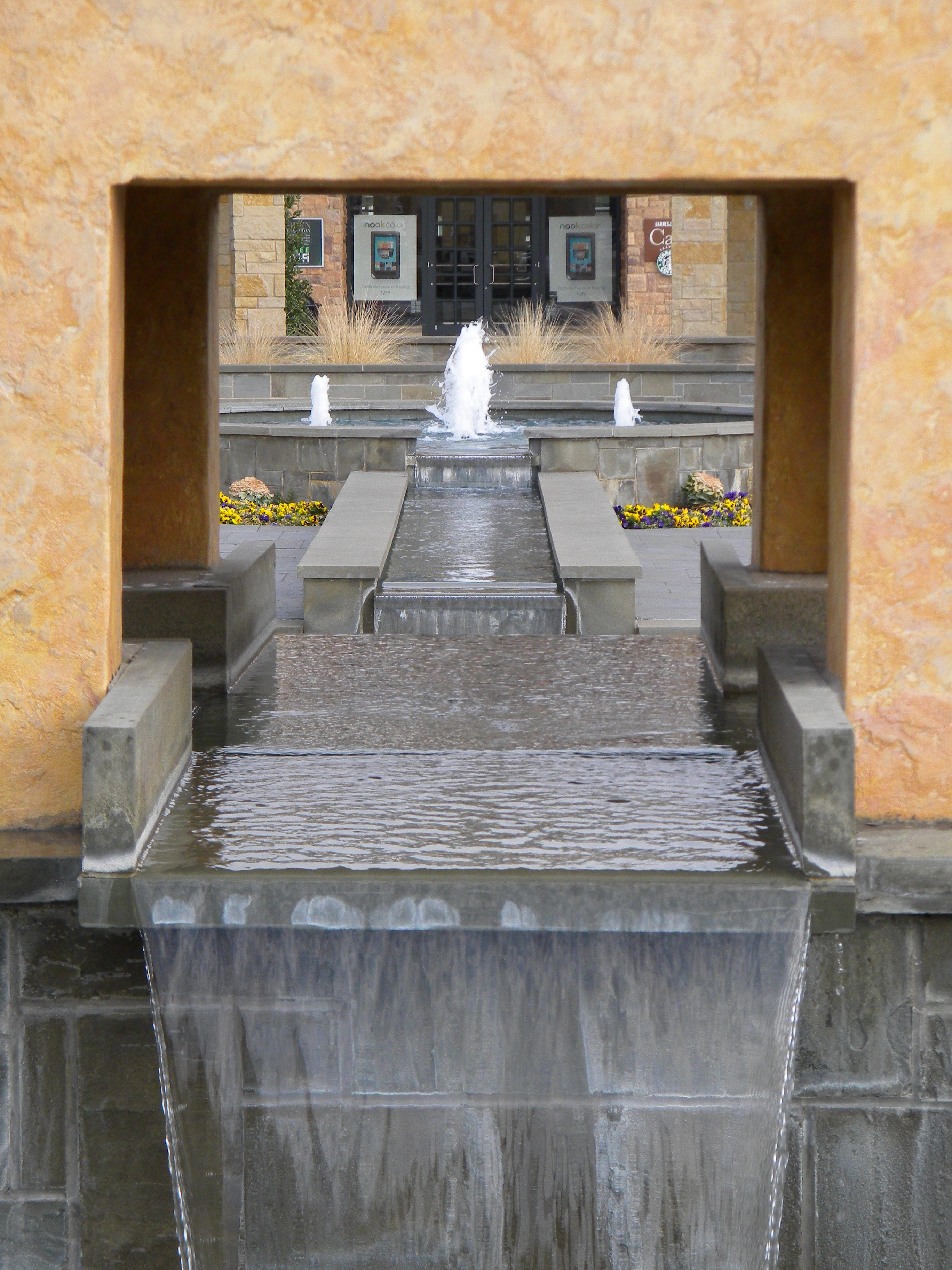 Fountain at The Shops of Highland Village