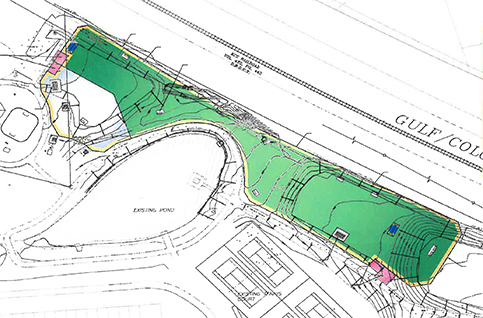 Unity Park Dog Park Site Plan